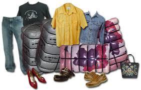 Reaproveitamento de roupas usadas