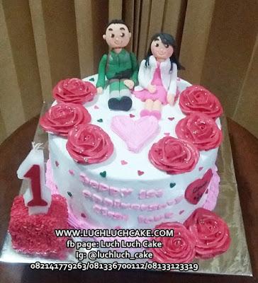 Anniversary Cupcake Tentara dan Dokter