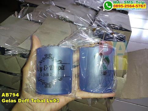 Jual Gelas Doff Tebal Lu03
