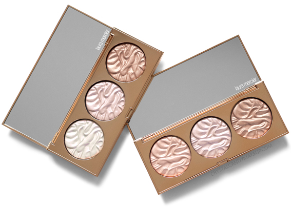 Laura Mercier Mood Lights Glow Face Illuminator Trio Palette Review Holiday 2018