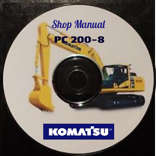 Komatsu PC 200-8.shop manual