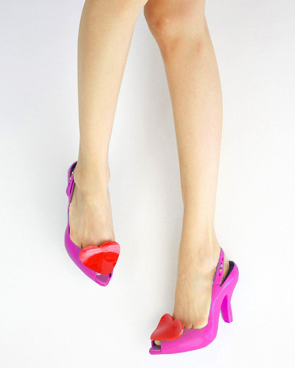 Melissa Lady Dragon Cherry Shoes