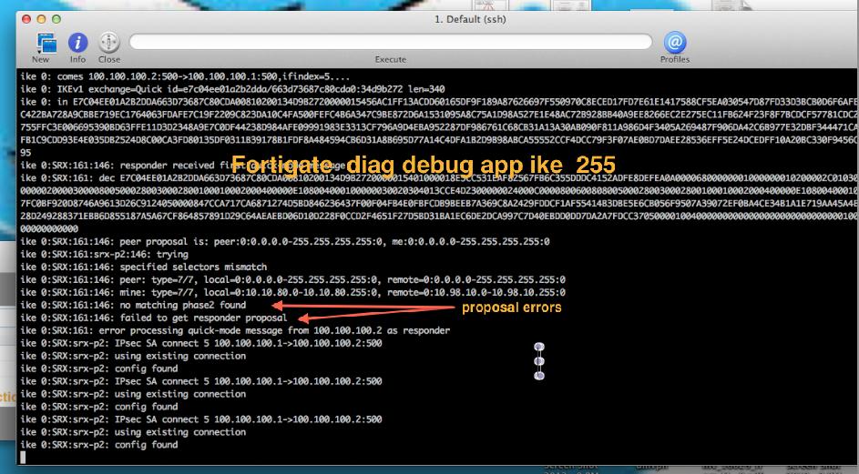 Ken Felix Security Blog: Site-2-Site ROUTED VPN Trouble