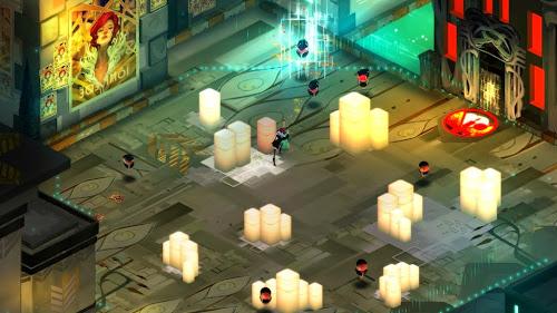 Screen Shot Of Transistor (2014) Full PC Game Free Download At worldfree4u.com