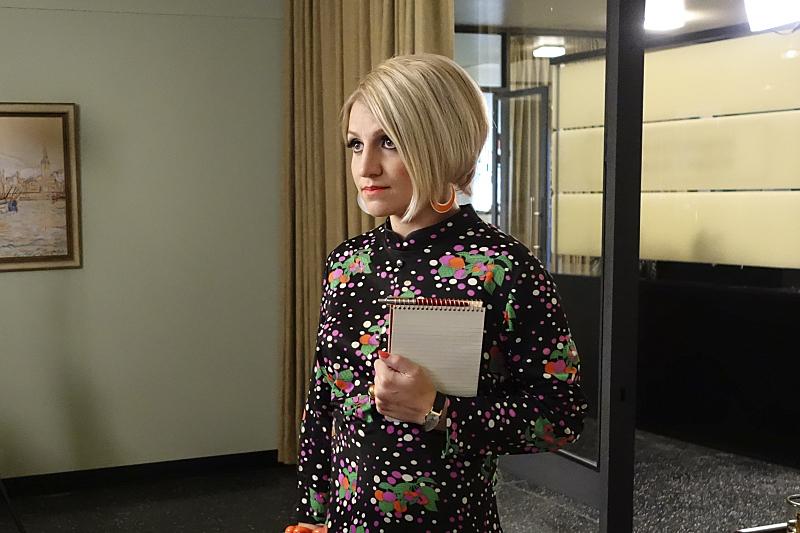 Betty en las oficinas de Masters y Johnson