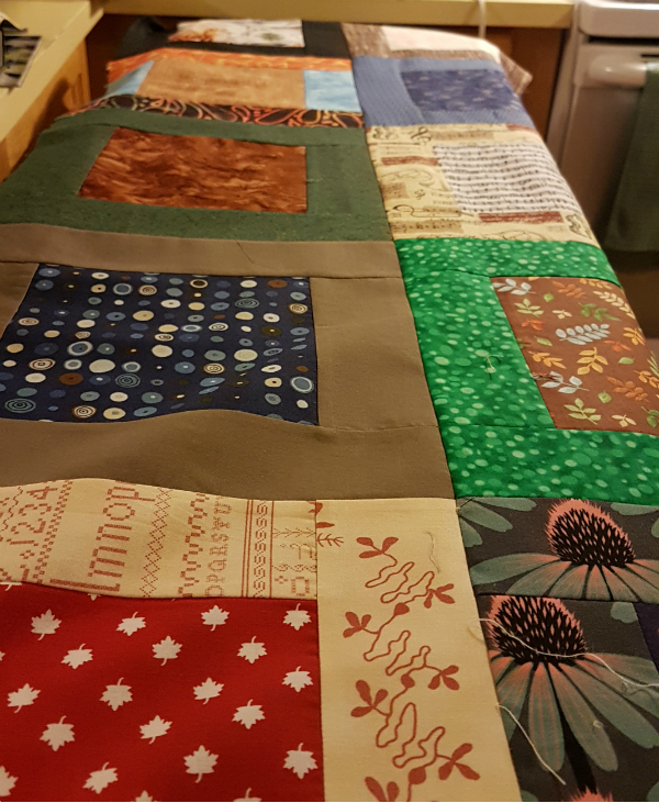 Charity quilt | DevotedQuilter.blogspot.com