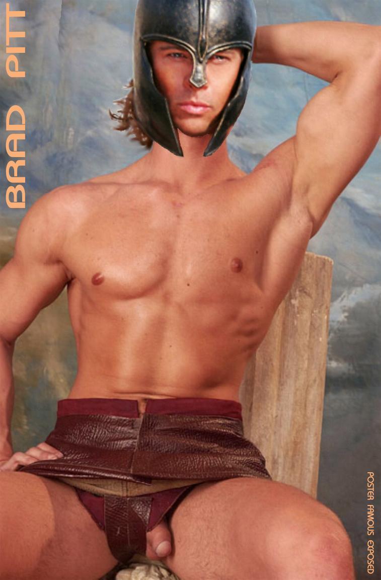 Los Famosos Al Desnudo Brad Pitt-9307