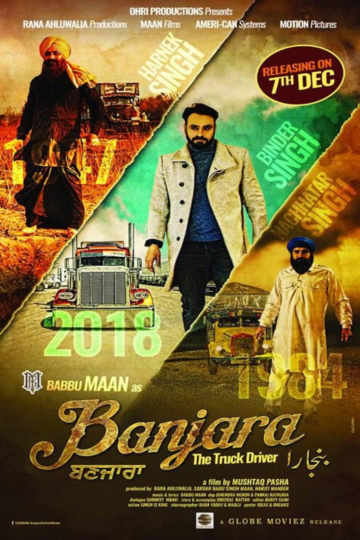 Banjara The Truck Driver (2018) Punjabi 720p Pre-DVDRip x264 950MB