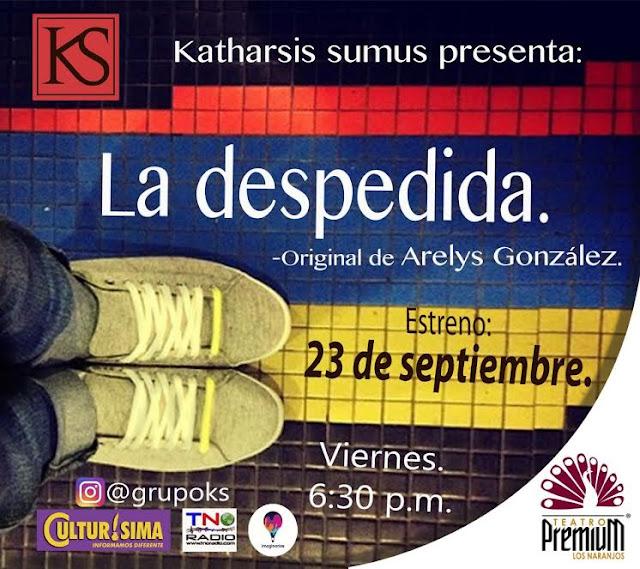irse de venezuela obra de teatro