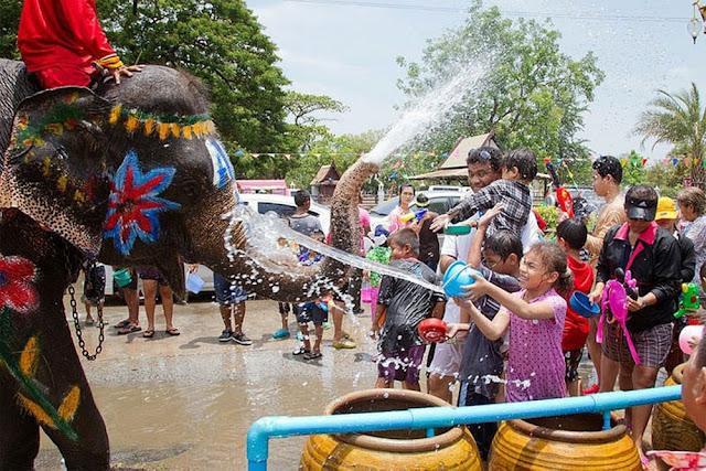 مهرجان في تاياند