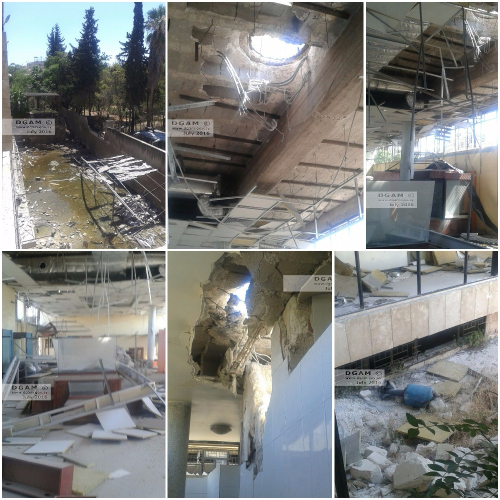 DGAM Syria reports damage to the National Museum of Aleppo ...