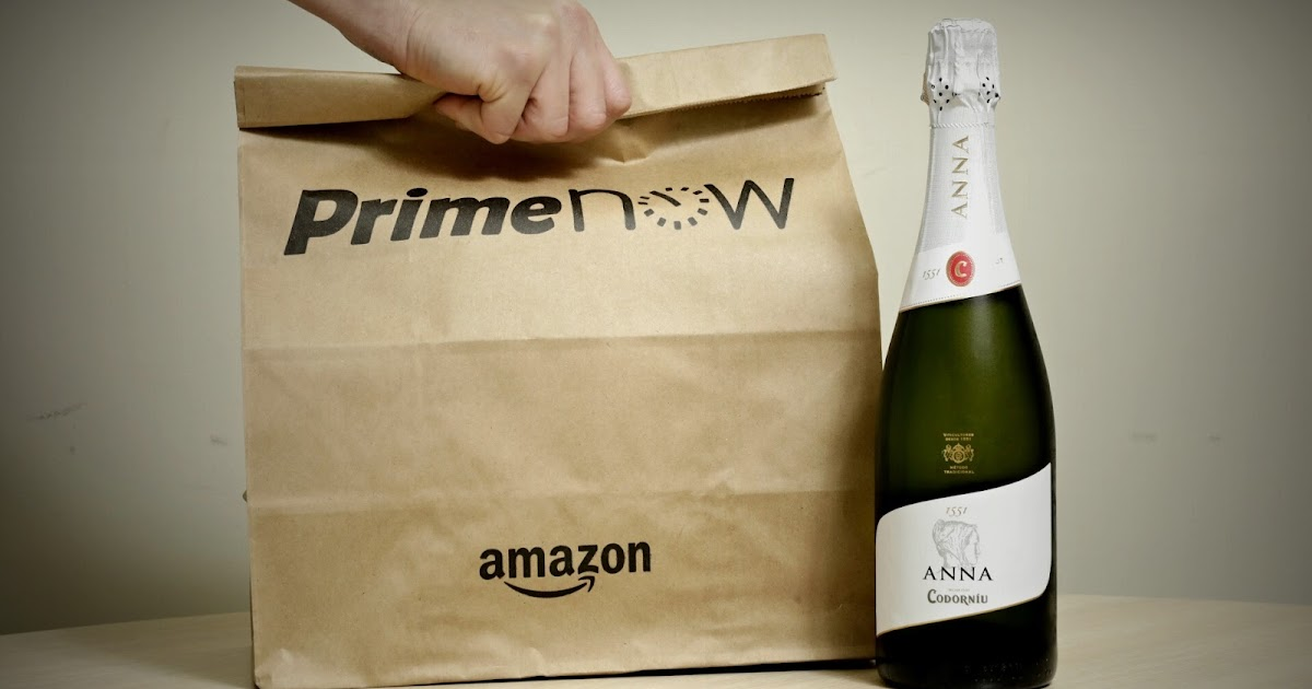 Estas fiestas el cava codorn u fr o en tu casa en una hora con amazon prime now - Amazon no estoy en casa ...