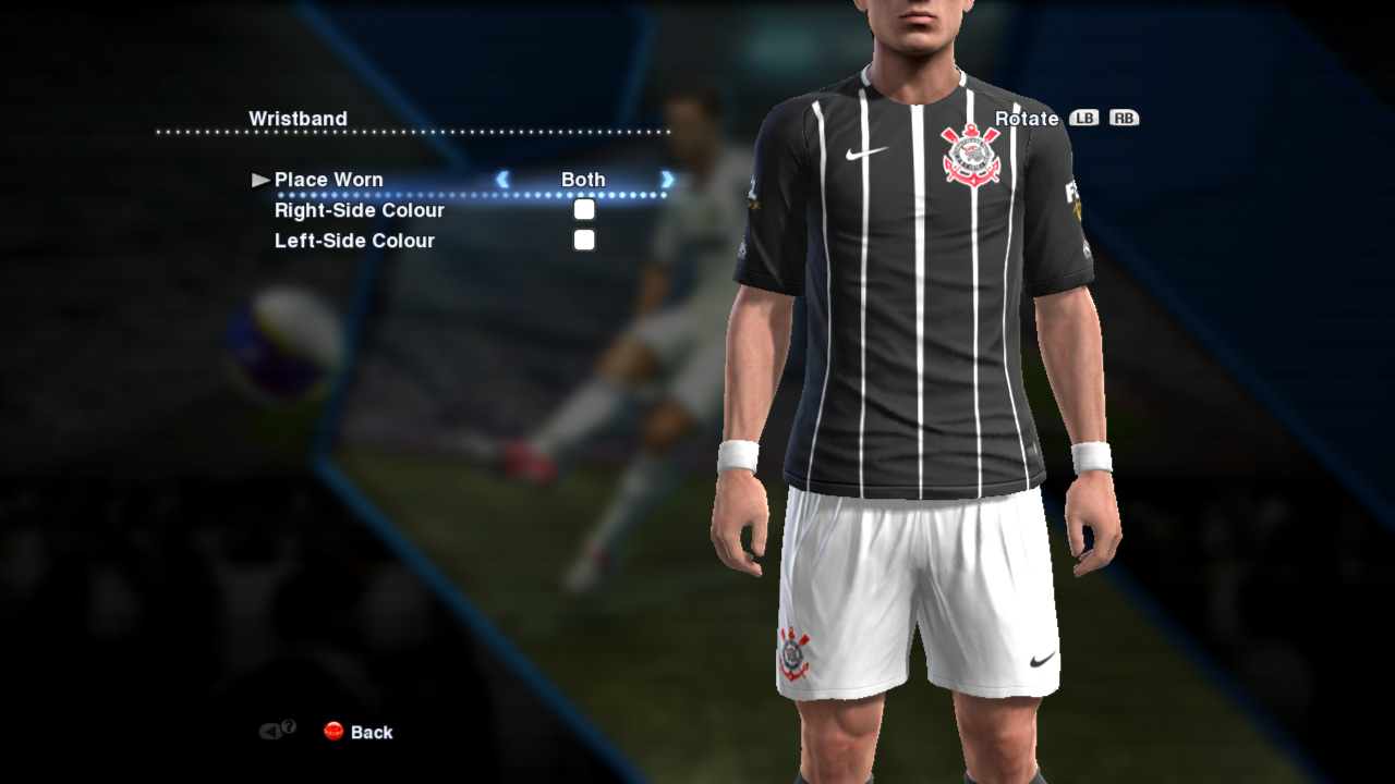uniforme do corinthians para pes 2013 pc