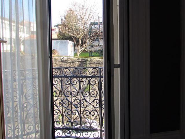 Vista de apartamento para se hospedar no Porto