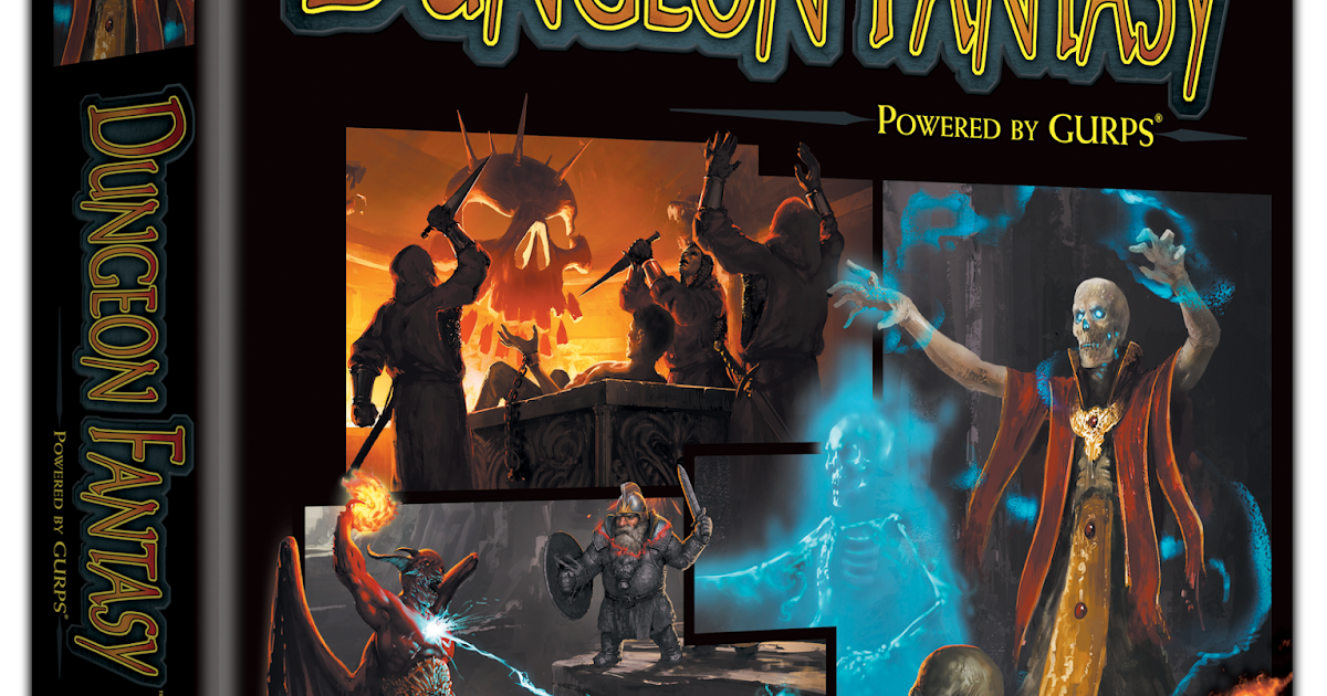 Bat In The Attic Dungeons Fantasy Rpg For Gurps Has