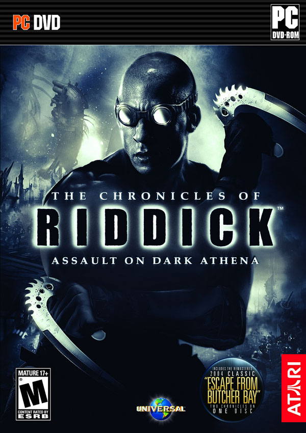 The Chronicles of Riddick Assault on Dark Athena Download Cover Free Game