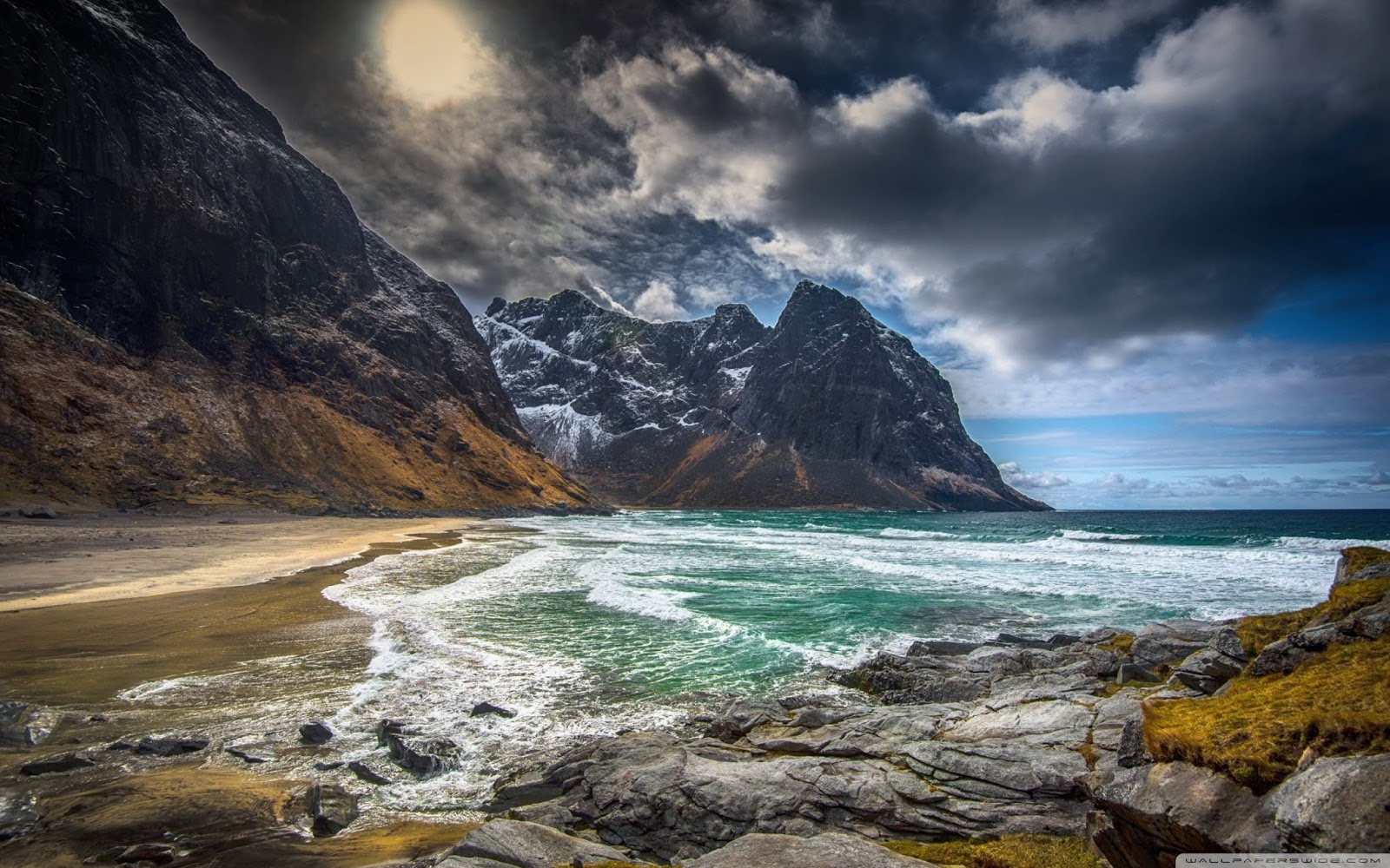 Lofoten, Norway HD Background