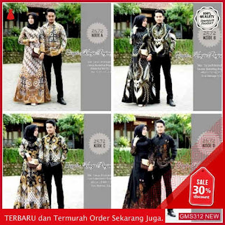 GMS312 BTKMN313C84 Couple Gamis Brokat 2508 Couple Dropship SK0301632396