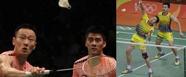 Final Ganda Putra Badminton Olimpiade 2016