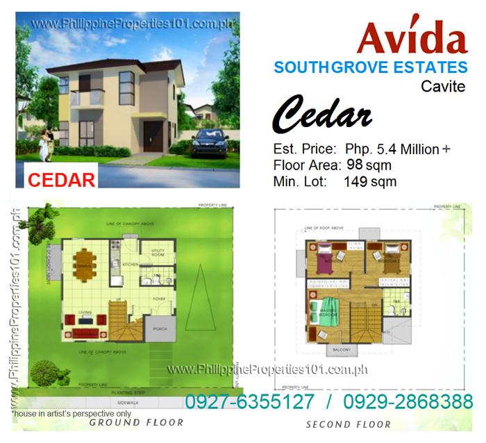 Avida South Grove Cavite Cedar House
