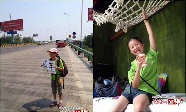 Backpacker Gadis 9 Tahun
