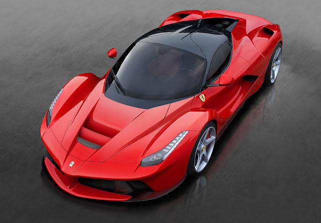 The Ferrari Laferrari top side