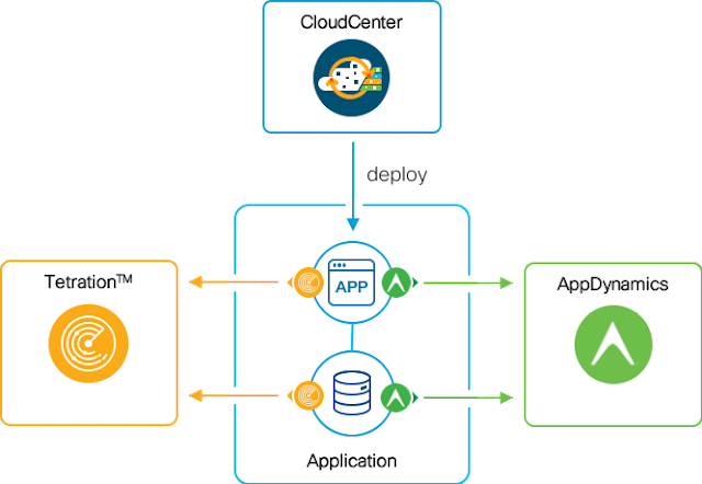 AppDynamics and Tetration integration with CloudCenter