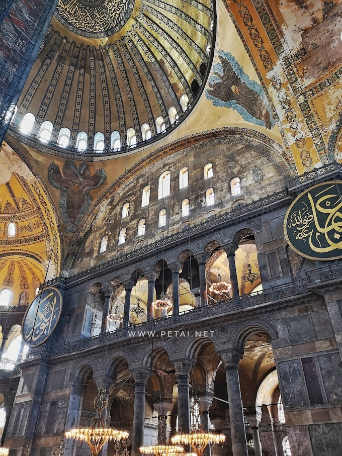 Muzium Hagia Sophia Pertembungan Dua Agama Di Istanbul