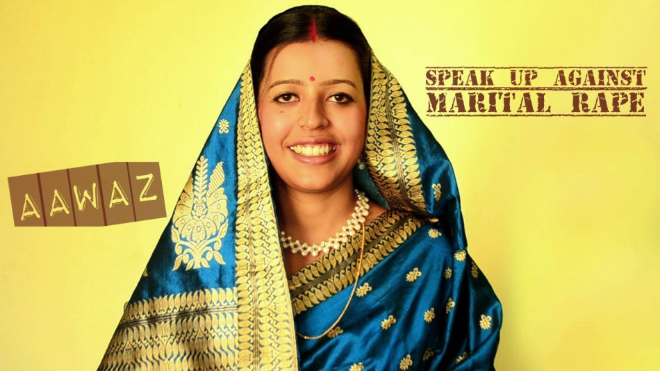 "Antara Barua in ""Aawaz - speak up against sexual violation"""