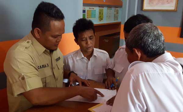 pengurus gerindra kabupaten cirebon urus berkas verifikasi