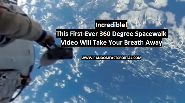 Incredible! This First-Ever 360 Degree Spacewalk Video Will Take Your Breath Away