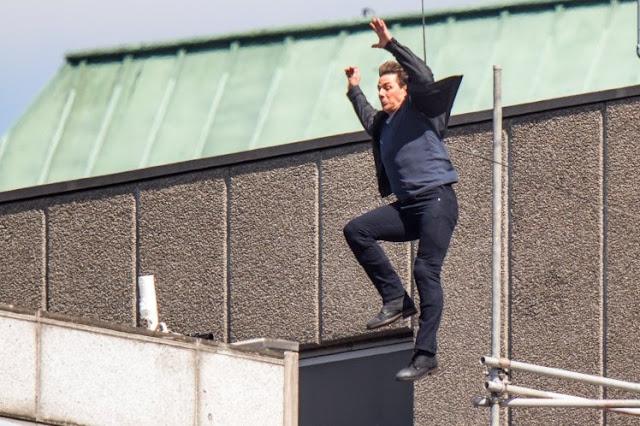 """Interrumpen el rodaje de """"Misión imposible 6"""" Por Accidente de Tom Cruise"""