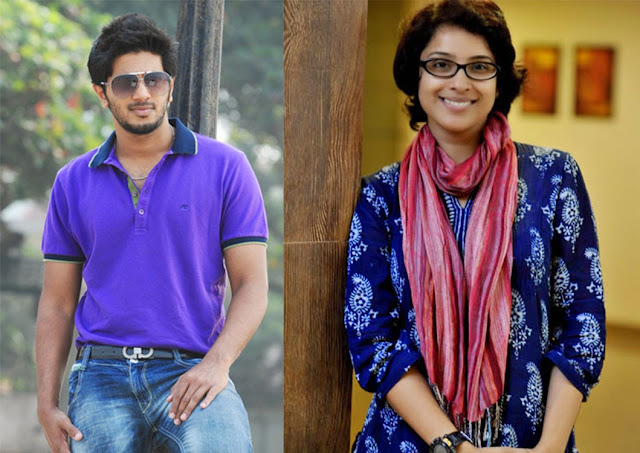 Dulquer Salmaan And Aparna Gopinath With Martin Prakkat
