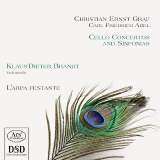 Graaf & Abel: Cello Concertos and Sinfonias