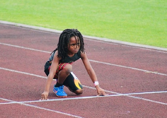The next Usain Bolt? Meet the 7-year-old sprinter who might be the fastest kid you've ever seen