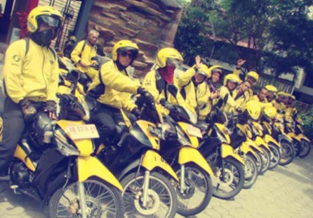 Taxi Motor di Yogyakarta