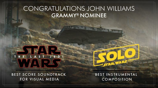 john williams 2018 grammys