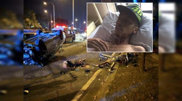 Berita susulan kemalangan ngeri rempuh geng basikal..'Saya nampak satu kereta itu memecut laju & pemandunya sedang bermain telefon'- Mangsa