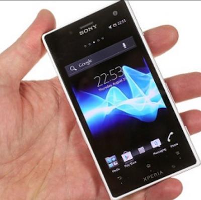 """Cara Flash Sony Xperia Acro S LT26w"""