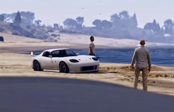 GTA V tributo a Paul Walker