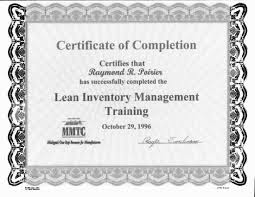 Upwork LEAN MANAGEMENT CERTIFICATION 2016