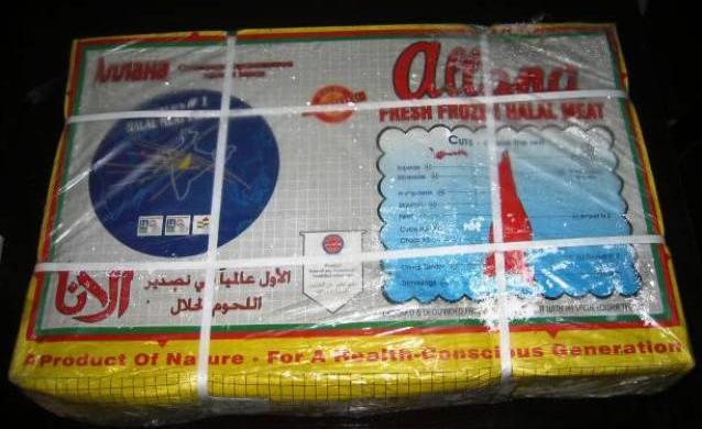 cung cấp thịt trâu Ấn Độ đông lạnh
