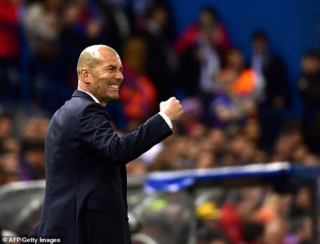 Real Madrid re-appoint Zinedine Zidane as new manager of the club until 2022