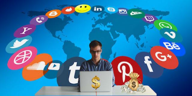 كسب المال من خلال وسائل التواصل الاجتماعي