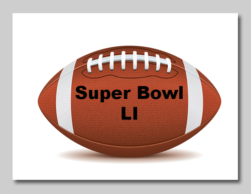 Super Bowl LI football