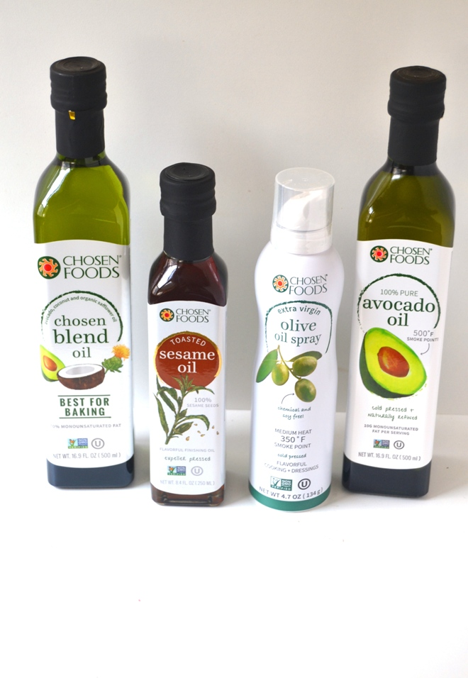 Chosen Foods oils