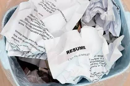 Hindari 8 Kesalahan ini saat Menulis Surat Lamaran Pekerjaan