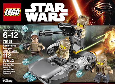 Lego Star Wars troopers