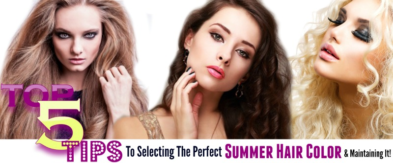 Top 5 Tips To Selecting The Perfect Summer Hair Color & Maintaining It, By Barbie's Beauty Bits and Madison Reed