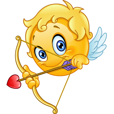 Cupid smiley